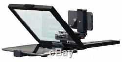 ForestAV iPad Teleprompter Kit with Quick Release Slide Plate For Mobile/DSLR