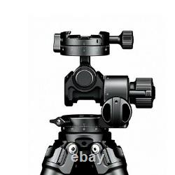 Geared Panoramic Tripod Head with Quick Release Plate Load 4KG For DSLR Camera