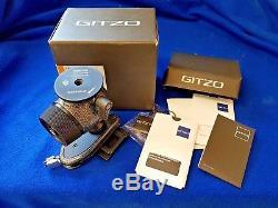 Gitzo Centre Ball Head Gh2780 Qd & Quick Release Plate
