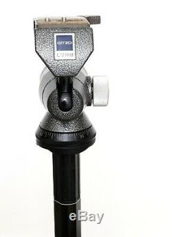 Gitzo G1276M off-centre ball head with two QR plates and spare cork pad