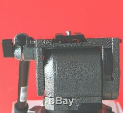 Gitzo G1380 Fluid Video Head with pan bar & plate 22 Lb Load Mint