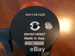 Gitzo GH1781QR Basalt Ballhead withQuick Release Plate -Limited Edition -Ball Head