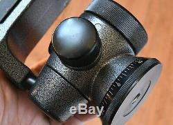 Gitzo Offset Ball Head G1276 Series 2 Ballhead w QR & Plate (GH2750QR) Macro