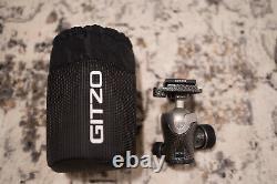 Gitzo Series 1 Traveller GH1382QD Center Ball Head, 31 lbs Load With Pouch & Plate