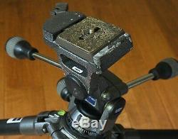 Gitzo Systematic G1325 Ser 3 Carbon Fiber Tripod G137M 3 way QR Pan Head w plate