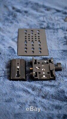 Glidecam HD-2000 + Manfrotto Quick Release Mounting Plate + B&H Weight Plate