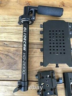 Glidecam HD 2000 and Manfrotto Quick Release Plate