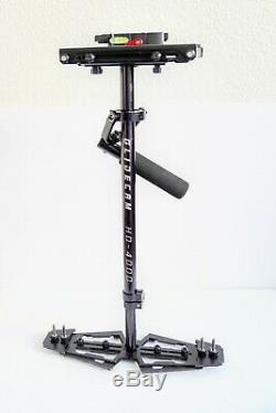 Glidecam HD-4000 Handheld Camera Stabilizer With Quick Release Plate and Weights