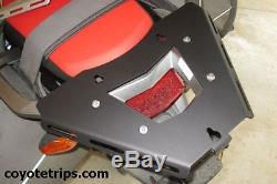 Honda CRF1000L Africa Twin Rear Rack, Top Case Adapter Plate with Quick-Release