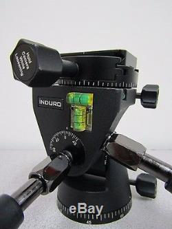 INDURO PHQ3 5-Way PANHEAD with PU-60 Quick Release Plate PHQ 3 Max Load 33.2lb