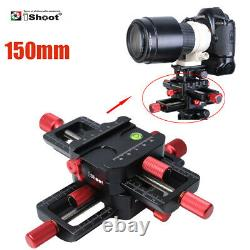IShoot 150mm Macro Focusing Slider Rail with Quick Release Plate for Arca-Swiss