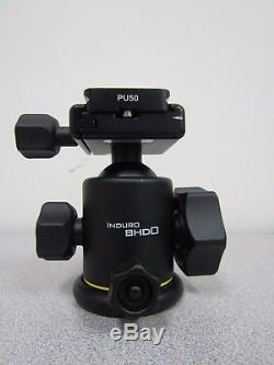 Induro BHD0 Ballhead with PU-50 Quick Release Plate BHD0 Max Load 17.6 lbs