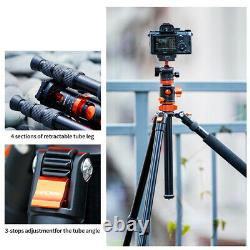 K&F Concept 75 inch Tripod Monopod For DSLR Camera With 1/4 Quick Release Plate