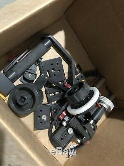 Kamerar Follow Focus, 15mm rods, Small Rig Plate, Quick Release, Used Lightly