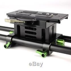 Lanparte BP-02B Baseplate Height Adjustable Quick Release Base Plate BridgePlate