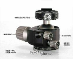 Leofoto LH-40R LH40R lower center double notch BallHead with Quick Release plate