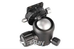 Leofoto NB-40R Professional Double Panoramic Ball Head with Quick Release Plate