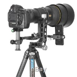 Leofoto PG-1 Aluminum Gimbal Head With Quick Release Plate