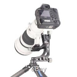 Leofoto PG-1 Aluminum Hollow structure Gimbal Head with QR Plate Arca-Swiss