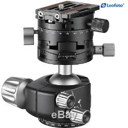 Leofoto Panorama Geared Ball Head LH-40 GR with QR Plate for Arca Swiss Camera