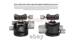 Leofoto US DealerLeofoto LH-55 Ball Head with Quick Release Plate / RRS / ARCA