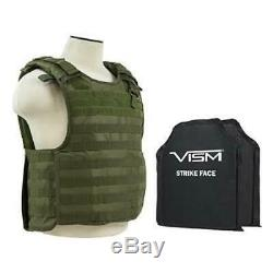 Level Iiia Vism Bscvpcvqr2964g-a Quick Release Plate Carrier Vest With 10x12' L