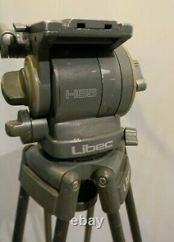 Libec T77 Tripod & H85 Fluid Head with Plate, 2 PH-7 Handles, Spreader, Ball 100mm