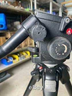 MANFROTTO by BOGEN 3001BN Tripod with Manfrotto 501 Head NO QUICK RELEASE PLATE
