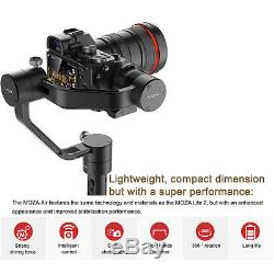 MOZA Air Handheld 3 axis Gimbal stabilizer F DSLRs+ Tripod+ Quick-release Plate