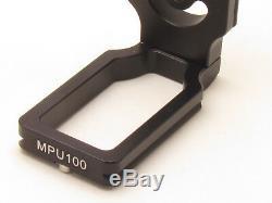 MPU100 Quick Release L Plate for Nikon D800 D5100 D3100 D90 D300s 810 DLSR RRS