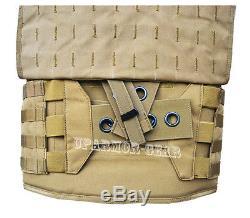 MULTICAM MOLLE Quick Release Plate Carrier Armor Vest (CONDOR QPC) no armor