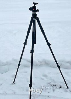 Manfrotto 055XPROB Tripod With Manfrotto 468MG Head and quick release head plate