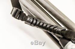 Manfrotto 055 MF3 Carbon Fiber Tripod w. 322RC2 Head & Quick Release Plate