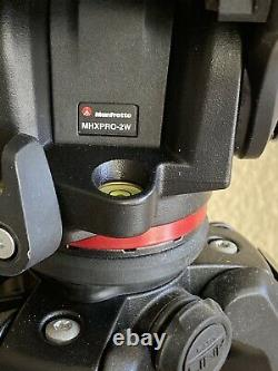 Manfrotto 055 Tripod with MHXPRO -2 Head With Plate