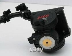 Manfrotto 116MK3 (Bogen 3066) Pro Video Fluid Head with arm & plate Mint
