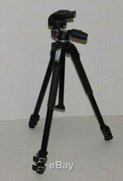 Manfrotto 190X Tripod with Manfrotto 804RC2 Head Release Plate Photography Camera