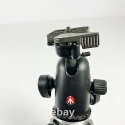 Manfrotto 290 Tripod 4 Section MT294A4 with 498RC2 Midi Ball Head Quick Rel Plate