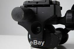 Manfrotto 3263 Geared Tripod Head with Tall Quick Release Plate
