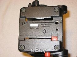 Manfrotto 351MVB2 Tripod, 501HDV Head, Leg Spreader, Quick Release Plate & Case