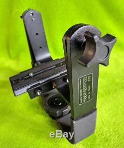 Manfrotto 393 Heavy Telephoto Long Lens Support Bracket with Quick Release Plate