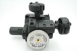 Manfrotto 400 3-Way Geared Pan-and-Tilt Head with Quick Release Plate
