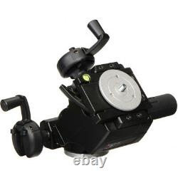 Manfrotto 400 3-Way Geared Pan-and-Tilt Head with Select Quick Release Plates