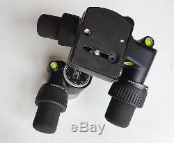 Manfrotto 405 Geared Tripod Head with quick release plate