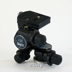 Manfrotto 410 (3275) 3-Way Geared Pan-and-Tilt Head with 410 Quick Release Plate