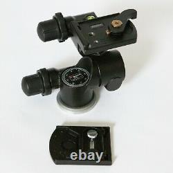 Manfrotto 410 Geared Tripod Head + 1x RC4 / 410PL Quick Release Plate