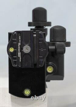 Manfrotto 410 Geared Tripod Head converted to Arca Swiss + orig Manfrotto plate