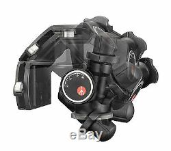 Manfrotto 410 Junior Geared Head Supports 11lbs (5kg). Included QR. Plate