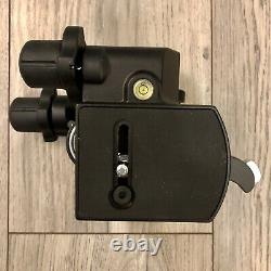 Manfrotto 410 Junior Geared Head with Two Quick Release Plates Never Used