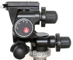 Manfrotto 410 geared head, 410PL quick release plate, box and instructions