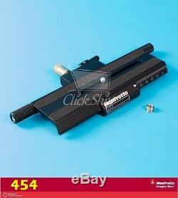 Manfrotto 454 Micrometric Positioning Sliding Plate Supports 17.7 lbs (8kg)